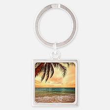 Ocean Sunset Keychains