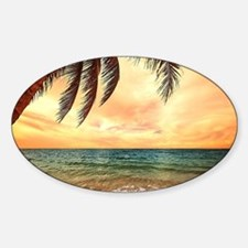 Ocean Sunset Decal