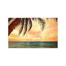 Ocean Sunset 3'x5' Area Rug