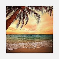 Ocean Sunset Queen Duvet