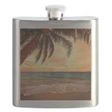 Ocean Sunset Flask
