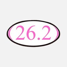 26.2 Running Oval Pink/Pink Patches