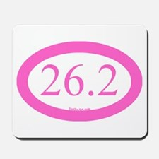 26.2 Running Oval Pink/Pink Mousepad