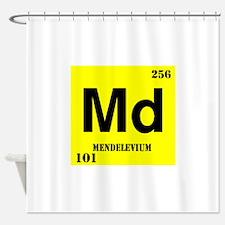 Mendelevium Shower Curtain