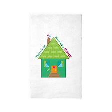 Like Home 3'x5' Area Rug