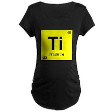 Titanium Maternity T-Shirt