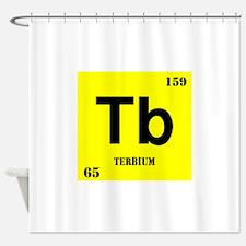 Terbium Shower Curtain