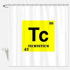 Techetium Shower Curtain