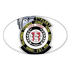 US NAVY 7TH FLEET TASK FORCE 77 Military P Decal
