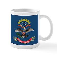 North Dakota Flag Mugs