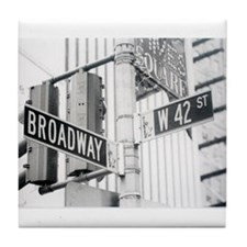 NY Broadway Times Square - Tile Coaster