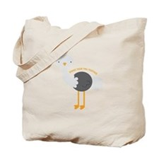 Tail Feather Tote Bag