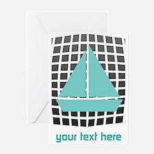 Cool Nautical Sailor Greeting Card