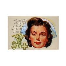 Nurses in Charge Vintage Design Magnets