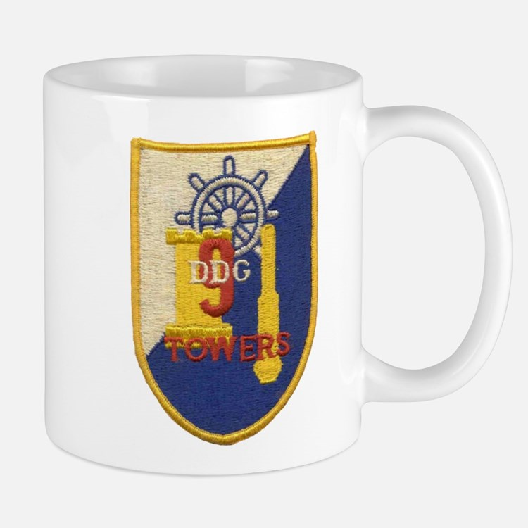 USS TOWERS Mug
