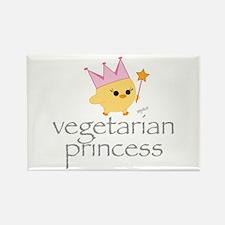 Vegetarian Princess Rectangle Magnet