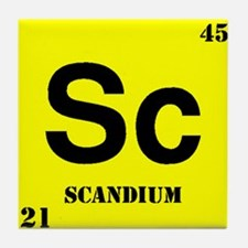 Scandium Tile Coaster