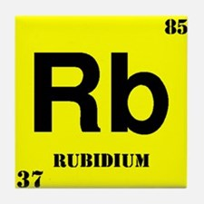 Rubidium Tile Coaster