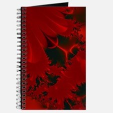 Red Fusions Fractal Art Journal