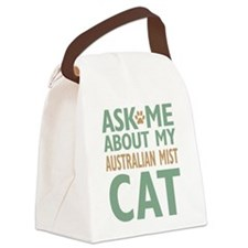 Australian Mist Cat Canvas Lunch Bag