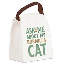 Burmilla Cat Canvas Lunch Bag