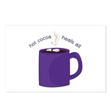 Hot Cocoa Postcards (Package of 8)