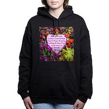 SERENITY PRAYER Women's Hooded Sweatshirt