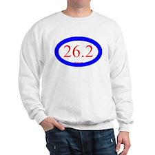 26.2 Running Oval Blue/Red Sweatshirt