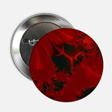 """Red Fusions Fractal Art 2.25"""" Button"""