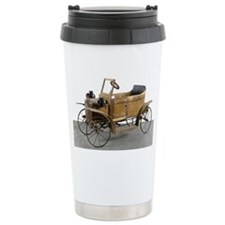 antique pedal car Travel Mug