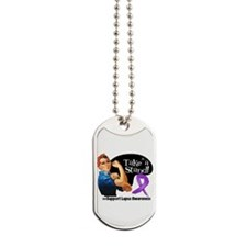 Lupus Stand Dog Tags