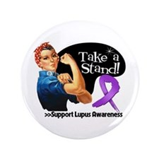 """Lupus Stand 3.5"""" Button (100 pack)"""