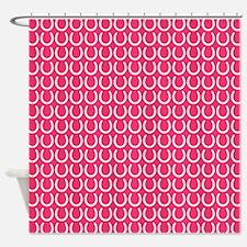 Horseshoe Pattern Shower Curtain