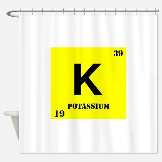 Potassium Shower Curtain