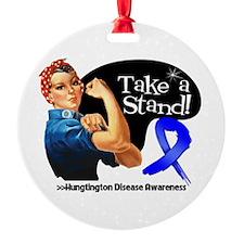 Huntington Disease Stand Ornament