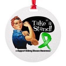 Kidney Disease Stand Ornament