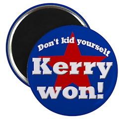 John Kerry Won Magnet