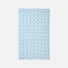 Horseshoe Pattern 3'x5' Area Rug
