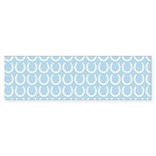Horseshoe Pattern Bumper Sticker