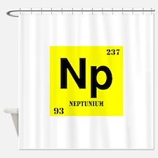 Neptunium Shower Curtain