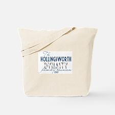 HOLLINGSWORTH dynasty Tote Bag