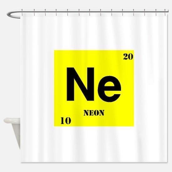 Neon Shower Curtain