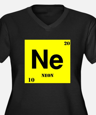 Neon Plus Size T-Shirt