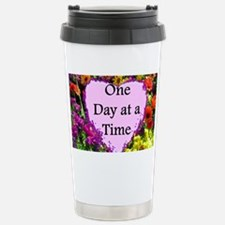ONE DAY AT A TIME Travel Mug