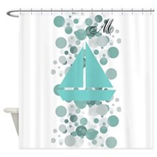 Custom Baby Shower Party Vintage Sail Boat Shower