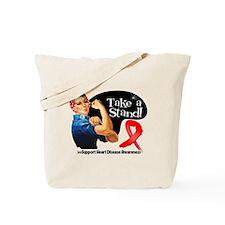 Heart Disease Stand Tote Bag