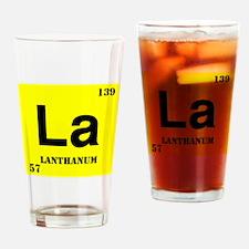 Lanthanium Drinking Glass