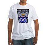 USS WILLIS A. LEE Fitted T-Shirt
