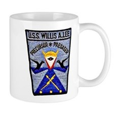 USS WILLIS A. LEE Mug