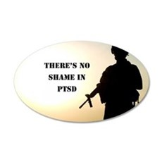 No Shame in PTSD Wall Decal